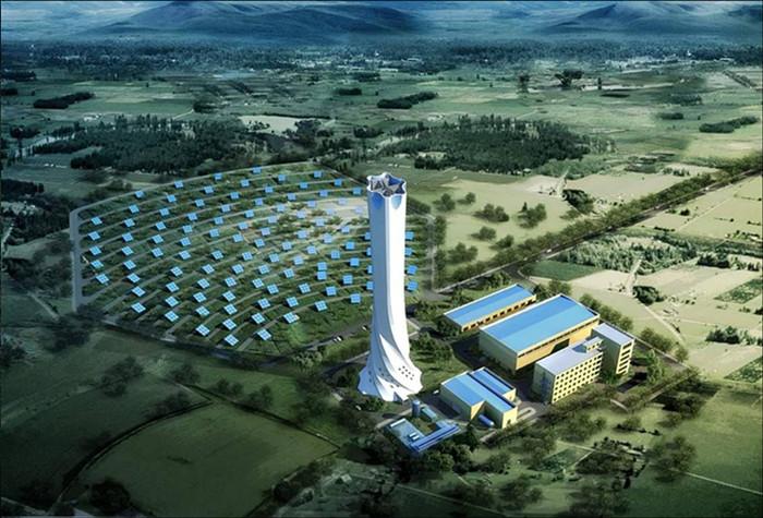 太阳能吸热塔工程