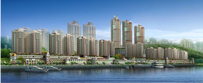 重庆市南岸南滨路商住区-和记黄埔-珊瑚水岸