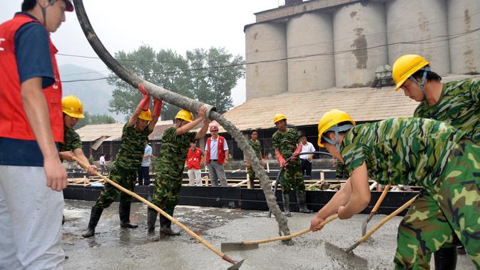 北京7.21特大自然灾害抢险救灾