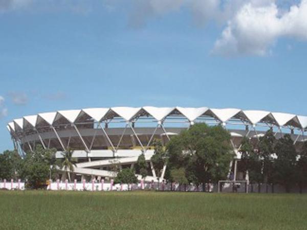 援坦桑尼亚国家体育场