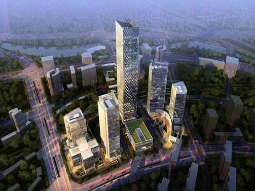 北京绿地中心工程