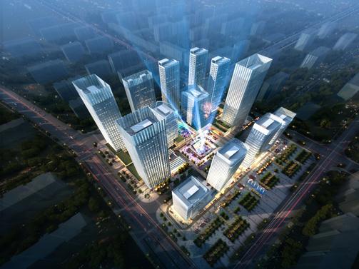 京西商务中心工程