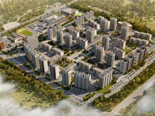 蒙古雅玛格新城房建项目