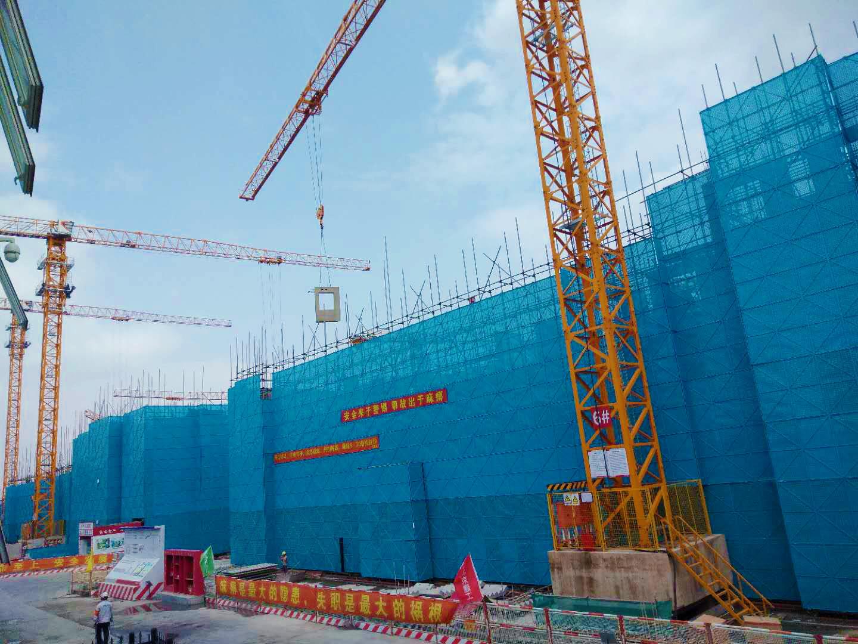 上海建邦国宸府项目全面完成正负零