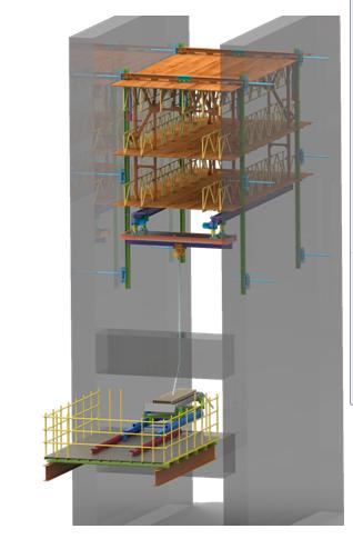 液压爬升吊装平台技术(JFYD20型)
