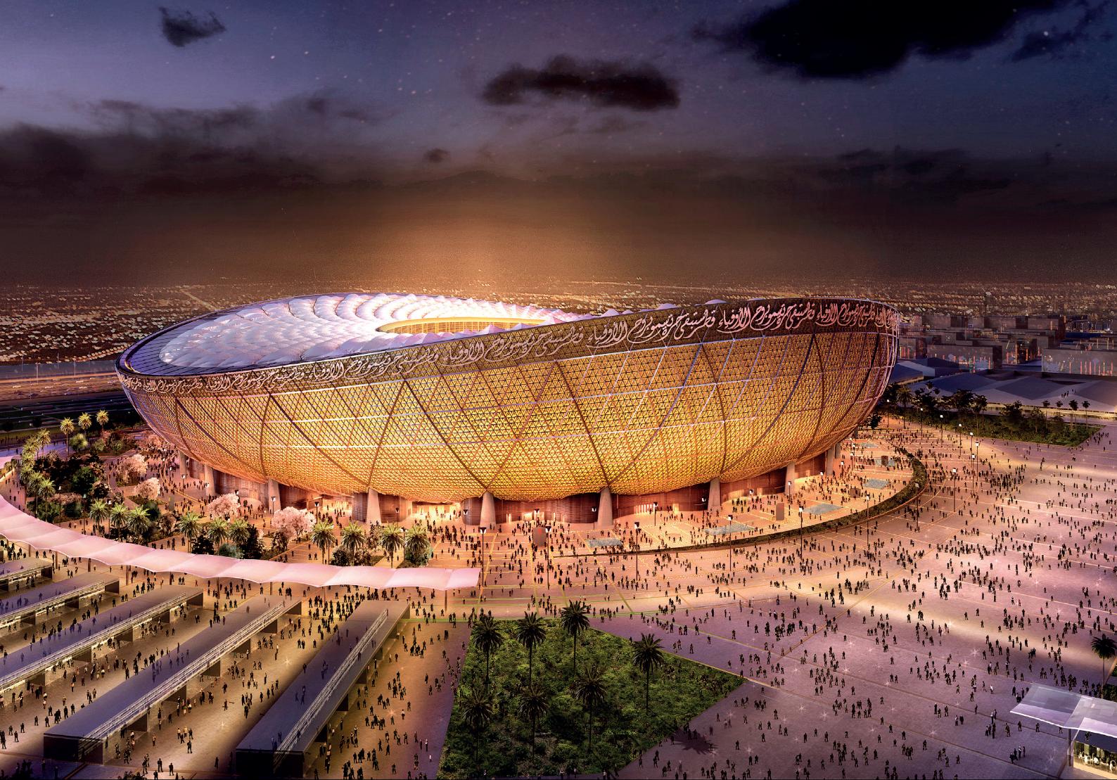 卡塔尔世界杯主体育场-多哈卢塞尔体育场.