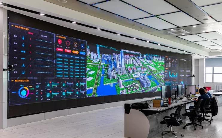 决战文旅区丨综合管廊监控运营维护中心顺利竣工验收